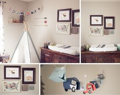 Adventure-themed nursery.