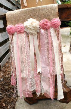 Corredores de la tabla de color de rosa / por SeriouslyCindyrella