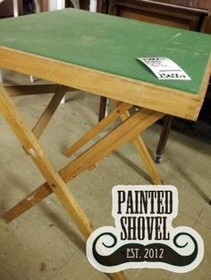 Gaming table sold by auction at Painted Shovel in Avondale, AL.
