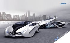 Dolphin concept car is the third winner of Michelin design challenge 2013, it reflects the principle of sporty, scientific and futuristic.