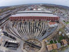 Miscellaneous photos from the former Pennsylvania Railroad Juniata Shops --- USA