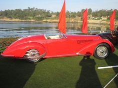 1938 Alfa Romeo 8C 2900B Touring Spider at Pebble Beach