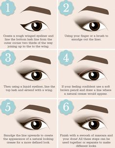 The Right Way to Apply Eyeliner For Your Eye Shape | Beauty and the Boutique #EyelinerTutorial Eyeliner Under Eye, Eyeliner For Eye Shape, Eyeliner Shapes, How To Apply Eyeliner, Eye Shapes, How To Apply Makeup, Winged Eyeliner, Eyeliner For Almond Shaped Eyes, Eyeliner Techniques