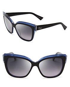 Dior Glisten Cat Eye Sunglasses