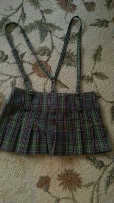 LIP SERVICE plaid mini skirt