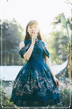Love the sleeves Style Lolita, Mode Lolita, Gothic Lolita Dress, Japanese Outfits, Japanese Fashion, Asian Fashion, Kawaii Fashion, Lolita Fashion, Cute Fashion