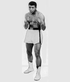 "Muhammad Ali (born Cassius Marcellus Clay, Jr.; January 17, 1942) is an American former professional boxer, philanthropist and social activist. Considered a cultural icon, Ali was both idolized and vilified. Ali would go on to become the first and only three-time lineal World Heavyweight Champion.  Nicknamed ""The Greatest,"" Ali was involved in several historic boxing matches. Notable among these were three with rival Joe Frazier, which are considered among the greatest in boxing history, and one with George Foreman, where he finally regained his stripped titles seven years later. Ali was well known for his unorthodox fighting style, which he described as ""float like a butterfly, sting like a bee"", and employing techniques such as the Ali Shuffle and the rope-a-dope. Ali had brought beauty and grace to the most uncompromising of sports and through the wonderful excesses of skill and character, he had become the most famous athlete in the world. He was also known for his pre-match hype, where he would ""trash talk"" opponents, often with rhymes."