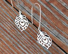 NEW  delicate pair of EARRINS sterling silver by euforioHandmade
