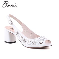 Find More High Heels Information about Bacia Sweet White Sheepskin Sandals Thick Heels High quality Genuine Leather Peep Toe Pump Size 36 40 Quality sheepskin sandals,China thick heel Suppliers, Cheap high heel thick from bacia Classic Sto Cheap High Heels, Cheap Shoes, Womens High Heels, Chanel Shoes Flats, Leather Ballet Flats, Diamond Shoes, Women Oxford Shoes, Thick Heels, Peep Toe Pumps