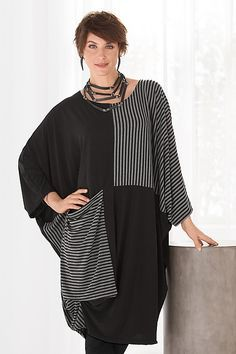 Forte Tunic by Heydari: Knit Tunic available at www.artfulhome.com