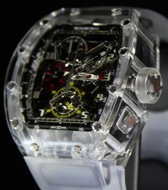 Richard Mille RM 056 All Sapphire Crystal Watch Watch Releases