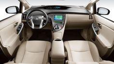 2015 Toyota Prius interiors