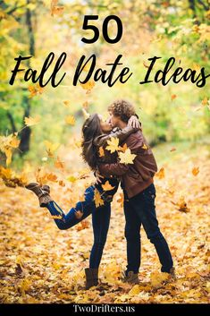 Fall is cozy blankets, crisp apples, hayrides, and fall leaves. These 50 romantic, adventurous date ideas for fall are perfect for this lovely season. #Fall #Dates #DateIdeas #FallDates #Relationships #Couples