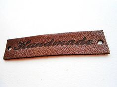 Leather Labels Sewing Accessories Handmade Labels Custom