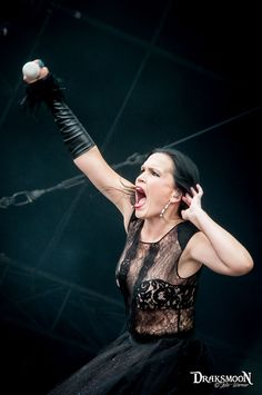 Tarja Turunen live at Hellfest 2016, France #tarja #tarjaturunen #tarjalive #sharondenadel #withintemptation #hellfest #hellfest2016 PH: Draksmoon - Julie Warnier https://www.facebook.com/Draksmoon/