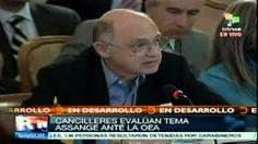 OEA solicita que se retire amenaza a Ecuador