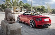 Bring your convertible's appearance back to like-new condition with a new Audi TT Convertible Top from Auto Tops Direct. Red Audi, Audi Rs, Vw 1.8 Turbo, Audi Convertible, Audi Tt Roadster, Alfa Romeo Cars, Bmw Series, Camping Gifts, Ford Gt