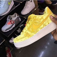 cheap nike shoes for women Cute Sneakers, Shoes Sneakers, Shoes Heels, Fresh Shoes, Hot Shoes, Custom Shoes, Nike Air Force, Sneakers Fashion, Me Too Shoes
