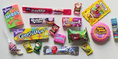 """""""Old Is New Again"""" - Most popular 90s candy"""