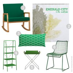 emerald green furniture decor cb2 toronto