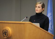 """""""The university experience must tell women that their brain power is valued, and not just that, but that they belong among the leadership of the university itself. """" —Emma Watson, in a speech at the UN General Assembly Emma Watson Speech, Outfits Mujer, Mary Elizabeth Winstead, Teresa Palmer, Trending Haircuts, Rachel Weisz, Eva Green, Empowering Quotes, Ideas"""