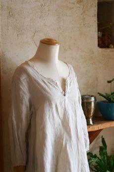 comfy linen dress