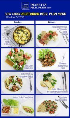7 Vegetarian Diabetic Meal Plans Ideas Diabetic Meal Plan Low Carb Meal Plan Low Carb Vegetarian