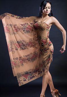 Santoria Clivia Dress DR10001| Dancesport Fashion @ DanceShopper.com