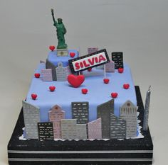 New York Cake by Violeta Glace