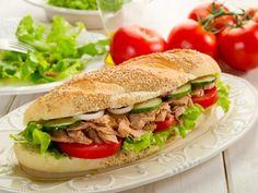 Sandwich au thon : Recette de Sandwich au thon - Marmiton