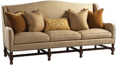 Custom Upholstery Sigrid Sofa by Lillian August