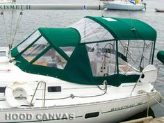 Marine Canvas Sailboat Photos - some great ideas here