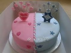 Image result for birthday cake for both boy and girl