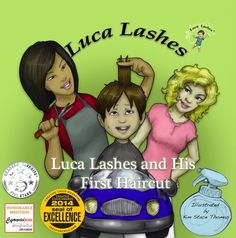 Luca Lashes and His first #Haircut has won the 2014 Seal of Excellence Award from Creative Child Magazine!  #Award #app