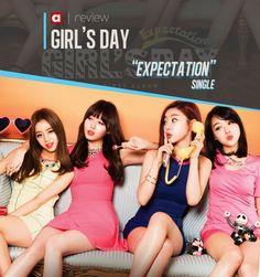 "[Pre-Release Review][Single] Girl's Day ""Expectation"" Girl's Day Expectation, South Korean Girls, Korean Girl Groups, Hyeri, Girl Day, Kpop Girls, Packaging, Music, Muziek"
