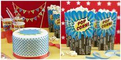 PopArt Party | Mottoparty | Teenie-Party | Popcornboxen | Geburtstagsparty