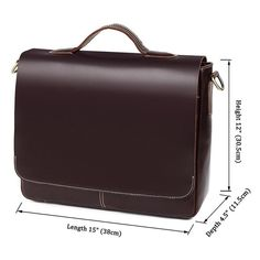 Ancona Leather Laptop Messenger Bag - Oxblood Ancona Leather Laptop Messenger Bag - Oxblood - Universal Store London™