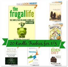 20 Free Kindle Books: Handbook for Family of Service Members, Jesus the One and Only, The Frugal Life, + More!