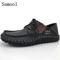 Hard-Working Laisumk Men Casual Leather Shoes Spring And Autumn Brand Korean Version Black Mens Flats Wear Resistant Males Set Of Feet Shoes Men's Casual Shoes