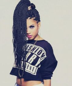 15 Senegalese Twists Styles You Can Use For Inspiration [Gallery] Read the article here - http://www.blackhairinformation.com/general-articles/playlists/15-senegalese-twists-styles-can-use-inspiration-gallery/