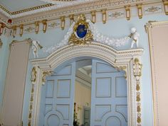 The ball room at Markree Castle, Sligo, Ireand, 2009 where our daughter was married. Truly French inspired.
