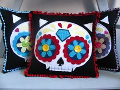 Mexican Skull - Pillow -