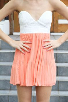 Nice coral.... super cute but i think i'll wait for the mint tea to be back in stock (cant wait till march)... Summer looks, wear, ideas Check more at http://fashionie.top/pin/40252/