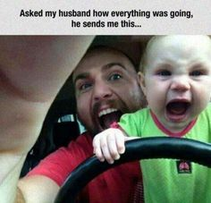 LOL - It's never too early to start! Take it away, son! #funnypics #funny #lol