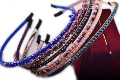 Toptheway 5ct Random Full Crystal Beads Headband Beautiful Hair Bands For Girls *** Click image to review more details.