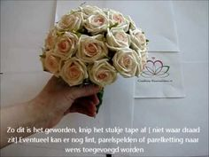 Filmpjes Bruidsboeket ,Trouwboeket zelf maken Corsage - Goedkoop-bloemschikken