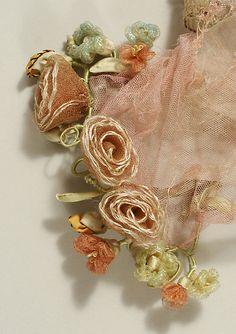 Evening dress L. P. Hollander & Co., Boston Date: 1915–16 Culture: American Medium: silk, metallic. Detail