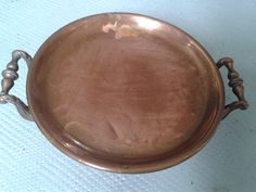 Copper antique plate warmer french kitchen by FrenchAntiqueSalvage