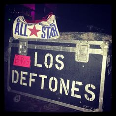 'On tour with @deftonesband' #mycanvasjourney @emizzleandizzle