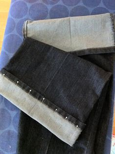 [ little observations ]: how to hem jeans: a DIY for short people!